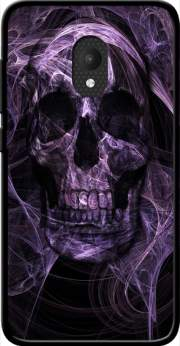 Violet Skull Case for Orange Rise 52 / Alcatel U5 4G