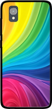 Rainbow Abstract Case for Orange Rise 54 / Alcatel 1