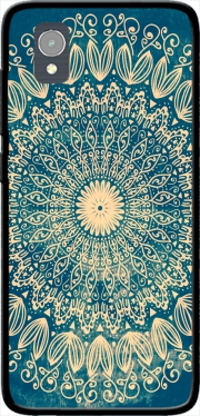 Blue Organic boho mandala Case for Orange Rise 54 / Alcatel 1