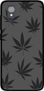 Cannabis Leaf Pattern Case for Orange Rise 54 / Alcatel 1