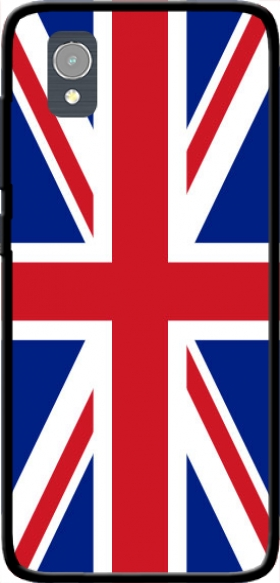 Case Flag Union Jack for Orange Rise 54 / Alcatel 1