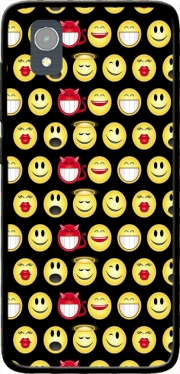funny smileys Case for Orange Rise 54 / Alcatel 1