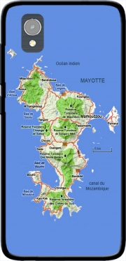 Mayotte Carte 976 Orange Rise 54 / Alcatel 1 Case