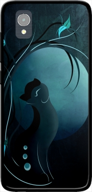 Sensual Cat in the Moonlight  Case for Orange Rise 54 / Alcatel 1