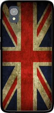 Old-looking British flag Case for Orange Rise 54 / Alcatel 1