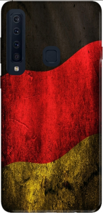 Case Samsung Galaxy A9 2018 with pictures flag