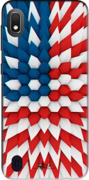 3D Poly USA flag Case for Samsung Galaxy A10