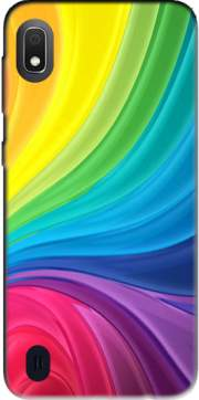 Rainbow Abstract Case for Samsung Galaxy A10