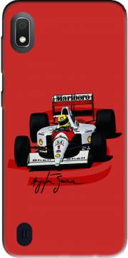 Ayrton Senna Formule 1 King Case for Samsung Galaxy A10