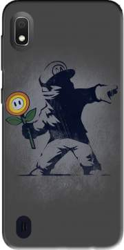 Banksy Flower bomb Case for Samsung Galaxy A10