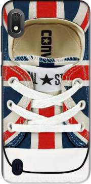All Star Basket shoes Union Jack London Case for Samsung Galaxy A10