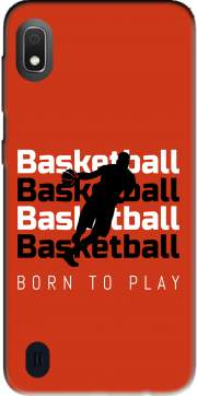 Basketball Born To Play Case for Samsung Galaxy A10