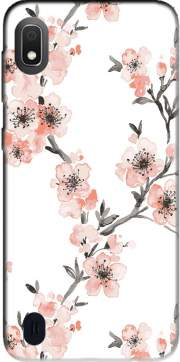 Cherry Blossom Aquarel Flower Samsung Galaxy A10 Case