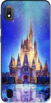 Disneyland Castle Samsung Galaxy A10 Case