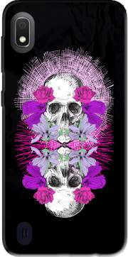 Flowers Skull Case for Samsung Galaxy A10