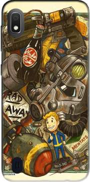 Fallout Painting Nuka Coca for Samsung Galaxy A10