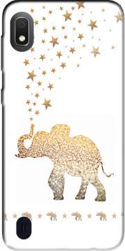 Gatsby Gold Glitter Elephant Case for Samsung Galaxy A10