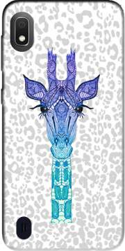 Giraffe Purple Case for Samsung Galaxy A10