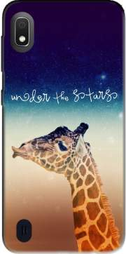 Giraffe Love - Right Case for Samsung Galaxy A10