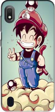 Goku-mario Case for Samsung Galaxy A10