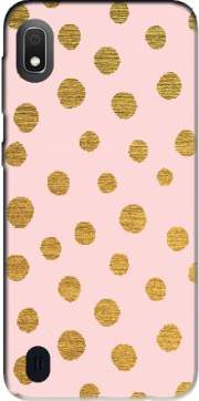 Golden Dots And Pink Case for Samsung Galaxy A10