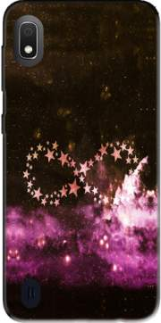 Infinity Stars purple Case for Samsung Galaxy A10