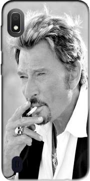johnny hallyday Smoke Cigare Hommage Case for Samsung Galaxy A10