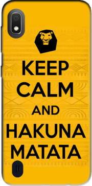 Keep Calm And Hakuna Matata Case for Samsung Galaxy A10