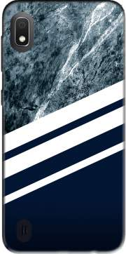 Marble Navy Case for Samsung Galaxy A10