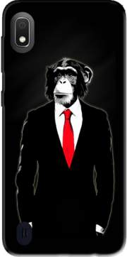 Monkey Domesticated Case for Samsung Galaxy A10