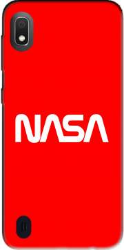 Nasa Red Logo Fail Samsung Galaxy A10 Case