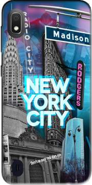 New York City II [blue] Case for Samsung Galaxy A10