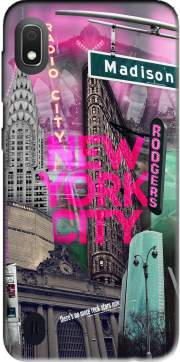 New York City II [pink] Case for Samsung Galaxy A10