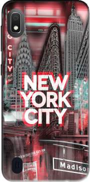New York City II [red] Case for Samsung Galaxy A10