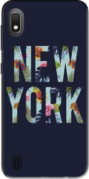 New York Floral Case for Samsung Galaxy A10
