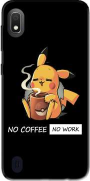 Pikachu Coffee Addict Case for Samsung Galaxy A10