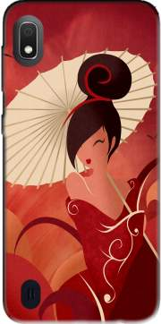 Sakura Asian Geisha Case for Samsung Galaxy A10