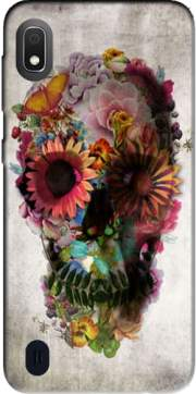 Skull Flowers Gardening Case for Samsung Galaxy A10