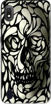 Skull Zebra White And Black Case for Samsung Galaxy A10