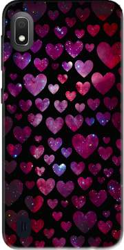 Space Hearts Case for Samsung Galaxy A10