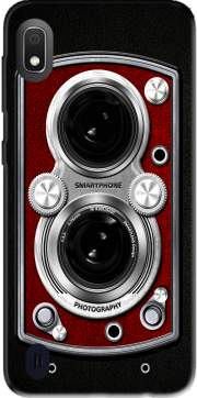Vintage Camera Red Case for Samsung Galaxy A10