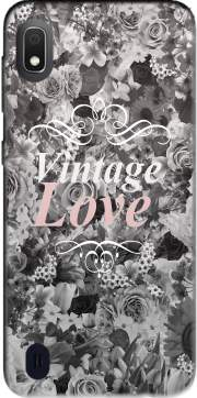 Vintage love in black and white Case for Samsung Galaxy A10