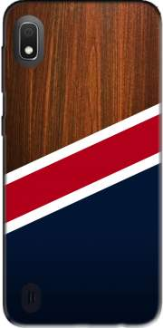 Wooden New England Case for Samsung Galaxy A10