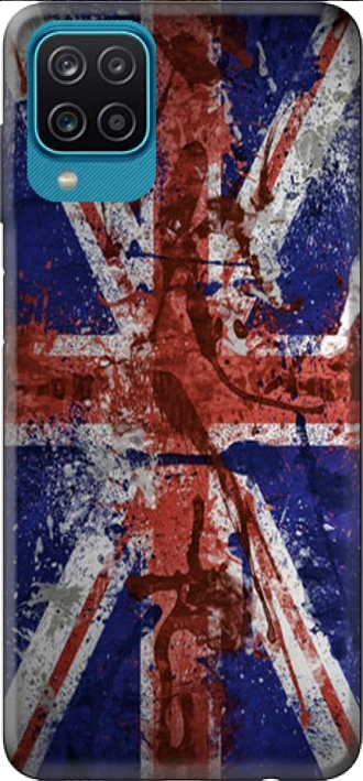 Case Samsung Galaxy A12 with pictures flag
