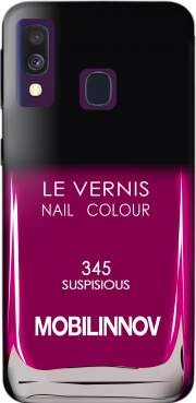Nail Polish 345 SUSPISIOUS Case for Samsung Galaxy A40