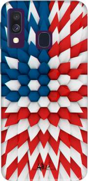 3D Poly USA flag Case for Samsung Galaxy A40