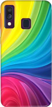 Rainbow Abstract Case for Samsung Galaxy A40