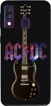 AcDc Guitare Gibson Angus for Samsung Galaxy A40