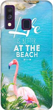 At the beach Case for Samsung Galaxy A40