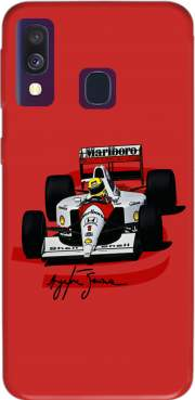 Ayrton Senna Formule 1 King Case for Samsung Galaxy A40
